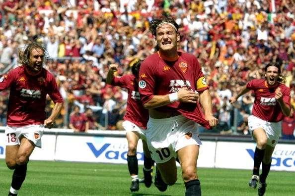 Totti Serie A Title 2001