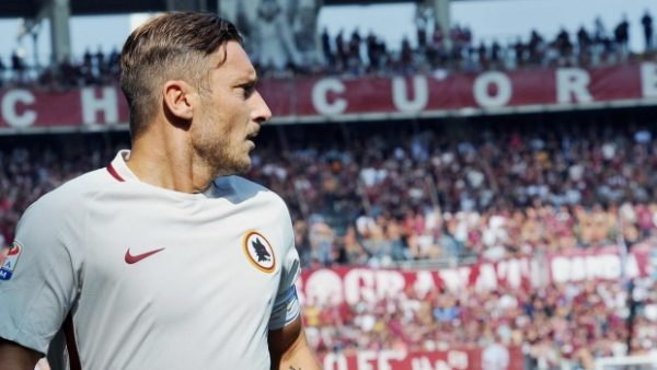 Totti goal number 250