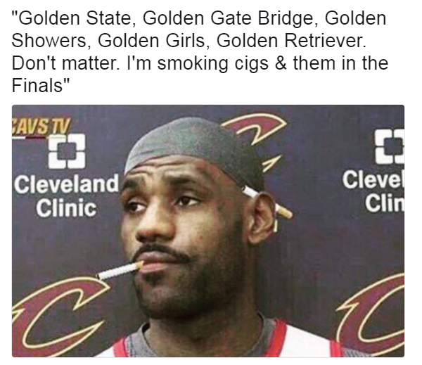 Uncle LeBron Golden State