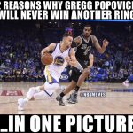 Why Popovich can't win