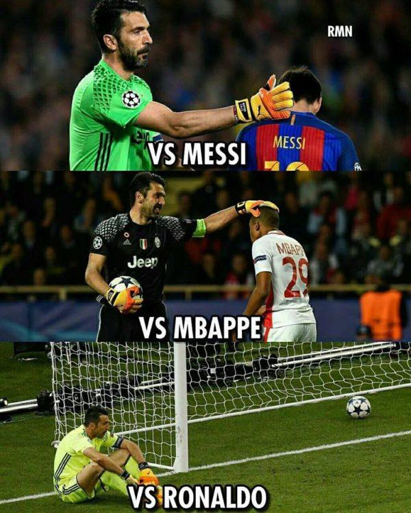 BUffon vs Ronaldo