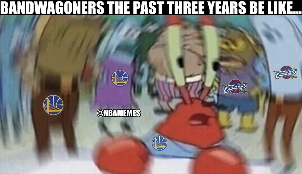 Bandwagoners don't know what to do