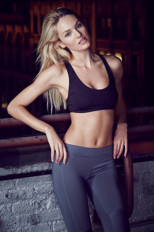 Candice Swanepoel Workout outfit