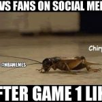 Cavs on social media chirp
