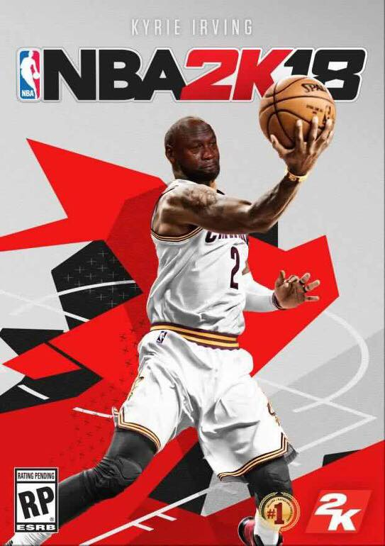 Crying Jordan Kyrie NBA2k cover