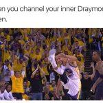 Curry inner Draymond