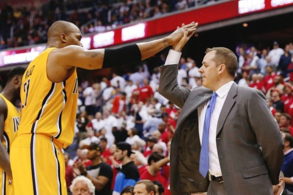David West, Frank Vogel