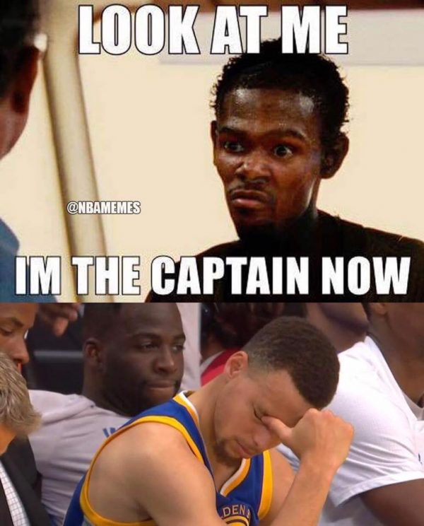 Durant I'm the Captain Now