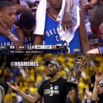 Durant Started from the bottom now we here