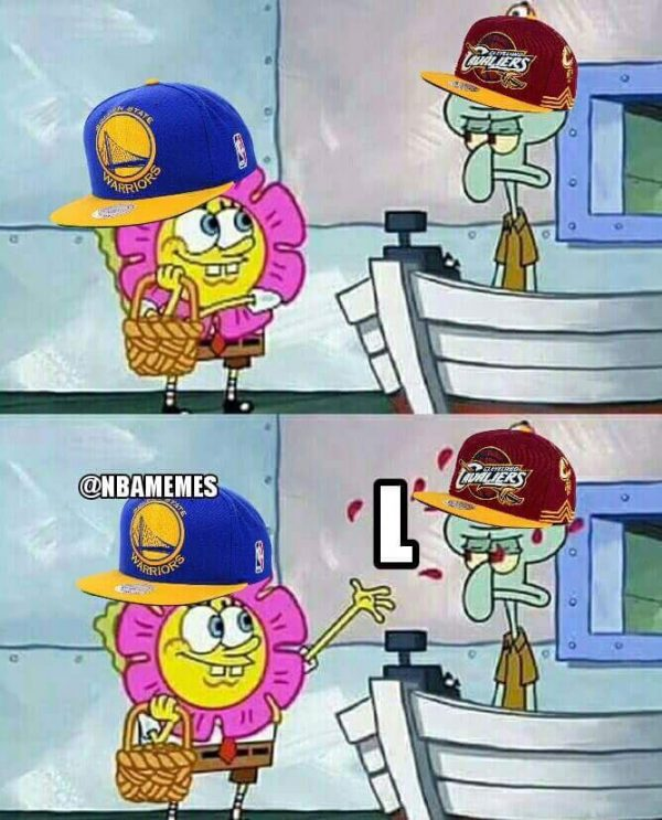 Handing the Cavs an L