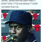 Jordan LeBron Meme
