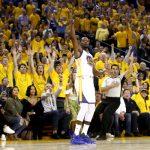 Kevin Durant, 2017 NBA Finals, Game 1