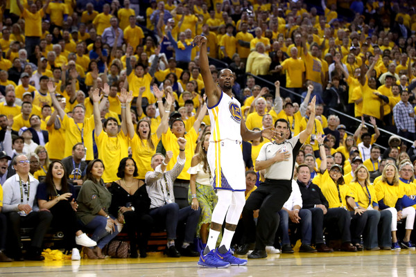 Kevin Durant, 2017 NBA Finals, Game 1