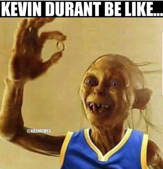 Kevin Durant be like