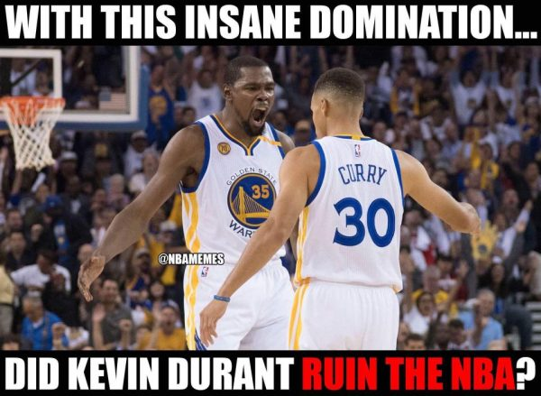 Kevin Durant ruined the NBA