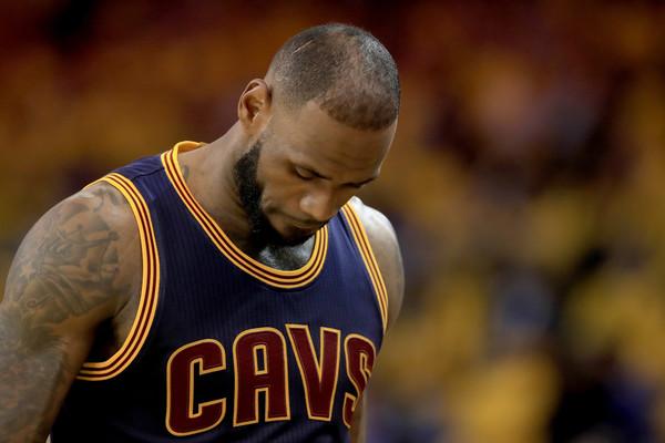 LeBron James, 2017 NBA finals, Game 1