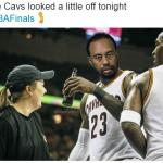 LeBron James Tiger Woods Meme