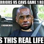LeBron is this real life