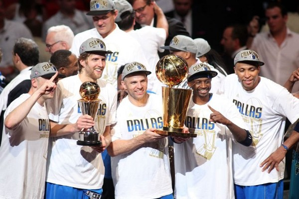 Mavericks 2011 Champions