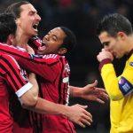 Milan Arsenal 4-0