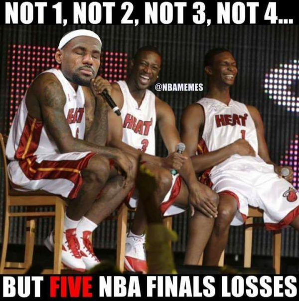 Not 1, not 2, not 3, not 4, 5 NBA losses