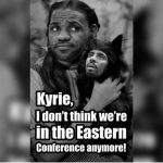 Not in the East Anymore