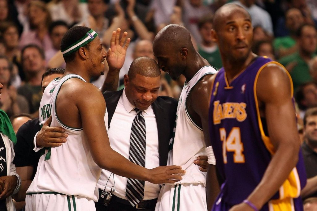 Pierce, Garnett, Rivers, Kobe