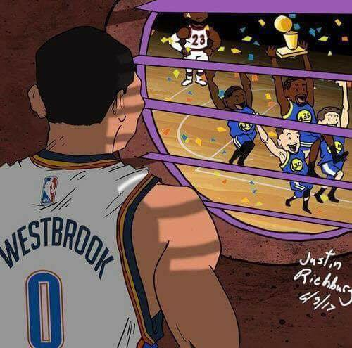 Westbrook watching Durant