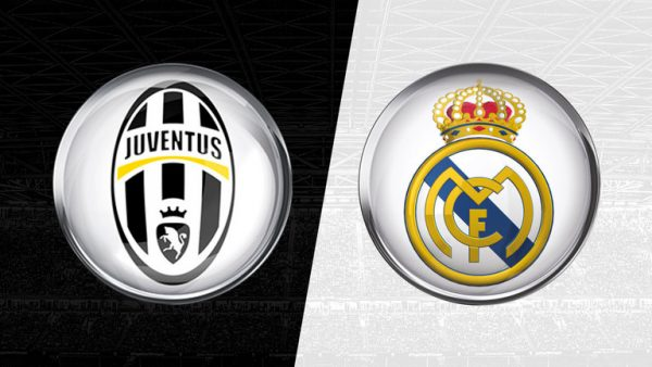 Juventus, Real Madrid, Logos