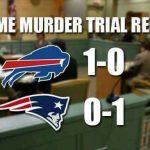Bills beat Patriots meme