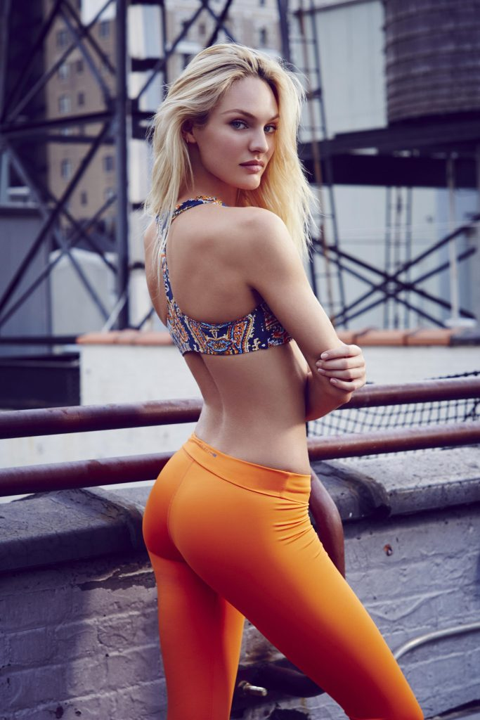 Candice Swanepoel Orange