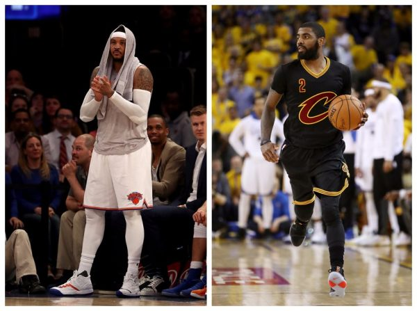 Carmelo Anthony, Kyrie Irving