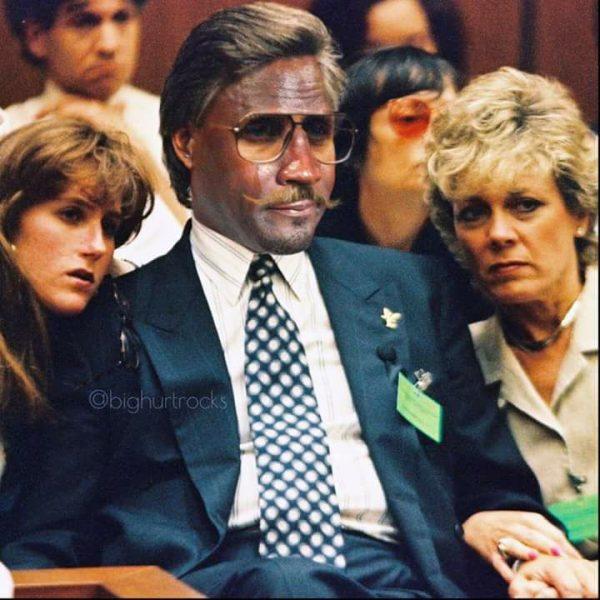 Crying Jordan O.J. Trial