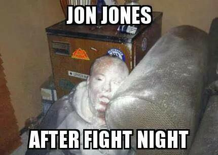 Jon Jones after the fight