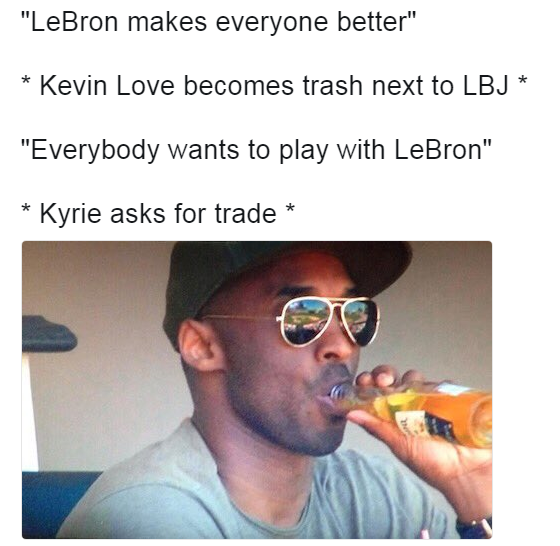 Kobe Bryant that's none of my business