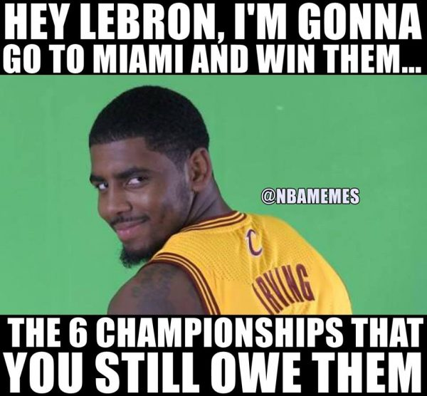 Kyrie Going to Miami