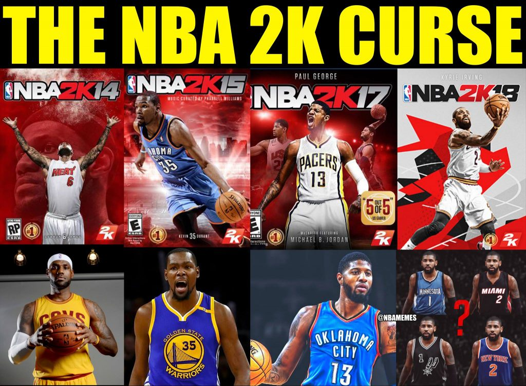 NBA 2k Curse