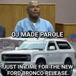 New Bronco Coming Out