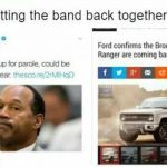 O.J. Getting the band back together