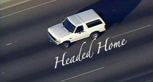 O.J. Headed Home