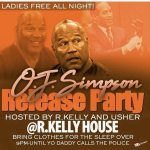 O.J. Simpson release Party