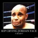 RIP Crying Jordan Face