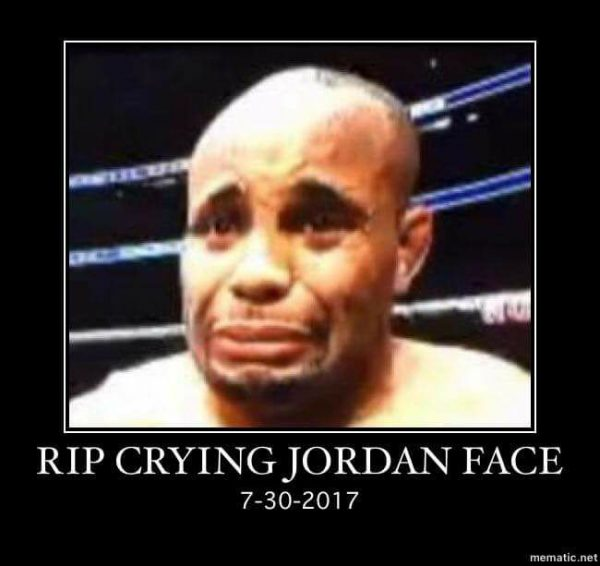 RIP Crying Jordan Face