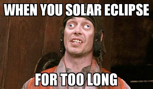 After staring at the eclipse for too long