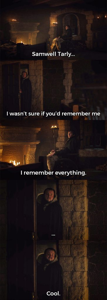 Bran Remembers Everything