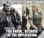 Dany & Jon Sexual Tension
