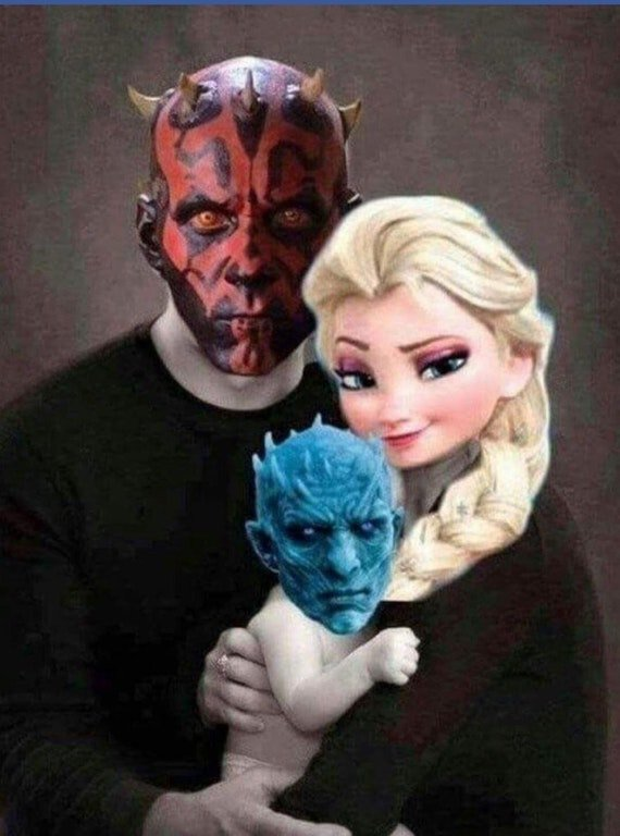 Darth Maul, Elsa, Night King