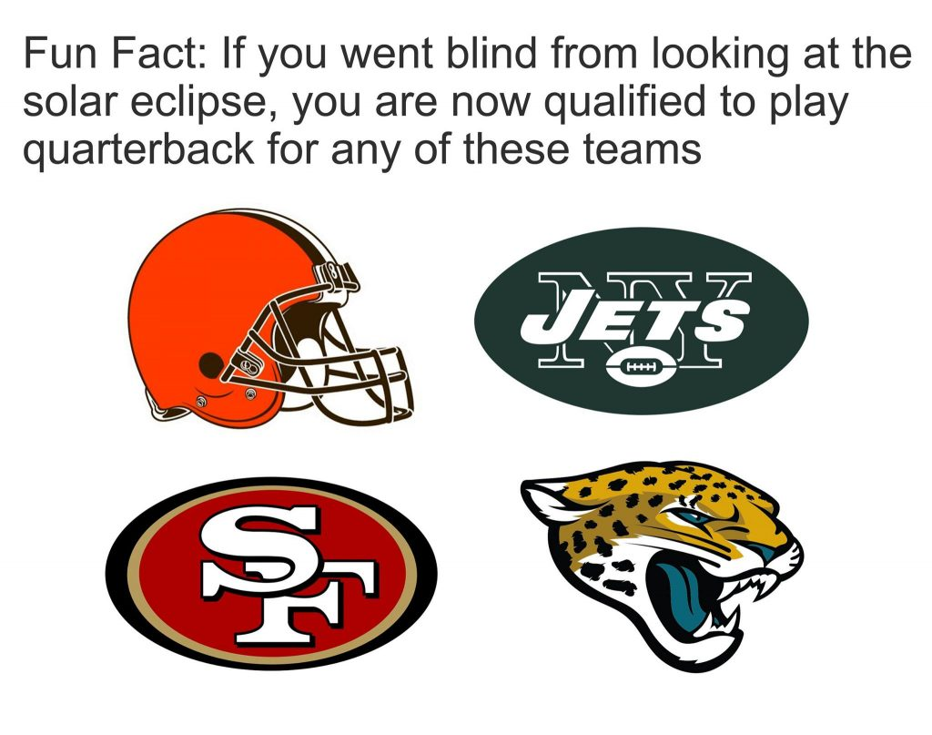 Eclipse Bad NFL teams