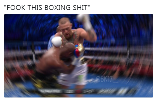 Fook this boxing shit