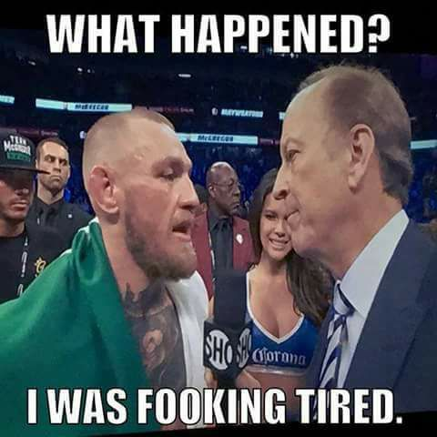 McGregor Crying Jordan Crying Cormier